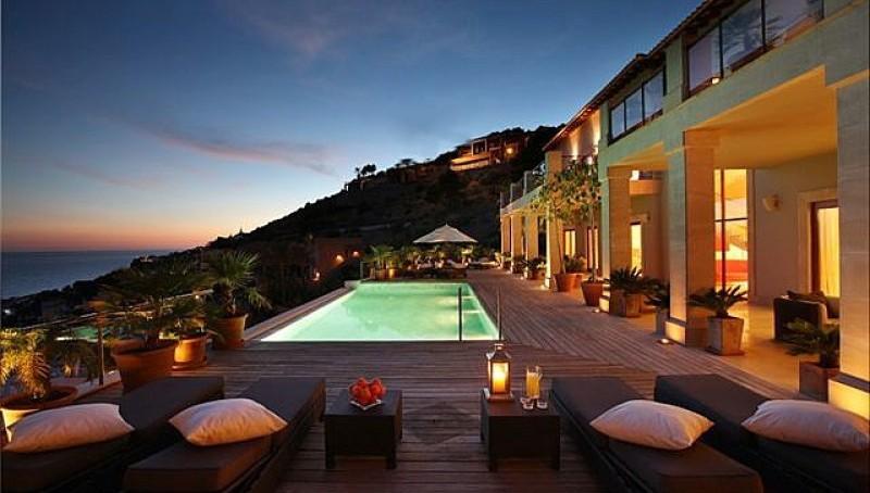 Luxus Villa mit Meerblick in Puerto Andratx- Pool