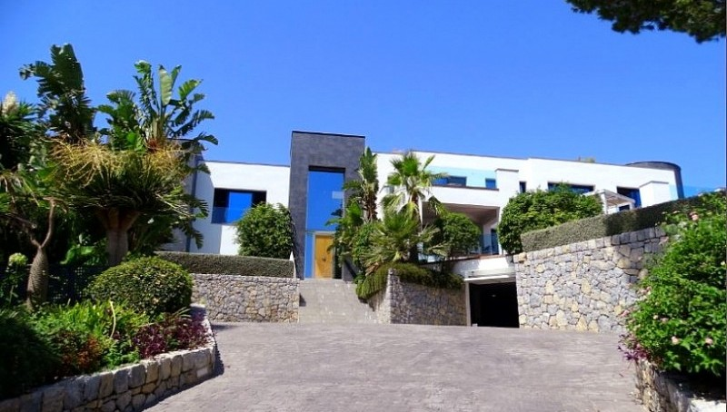 Moderne Meerblick-Villa in Cala Viñas