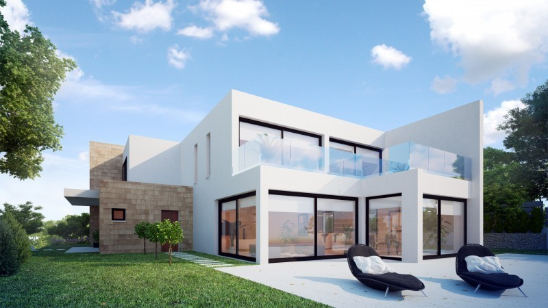 Moderne Meerblick Villa in Santa Ponsa