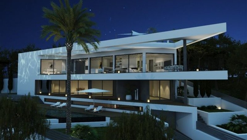 Neue Meerblick Villa in Nova Santa Ponsa
