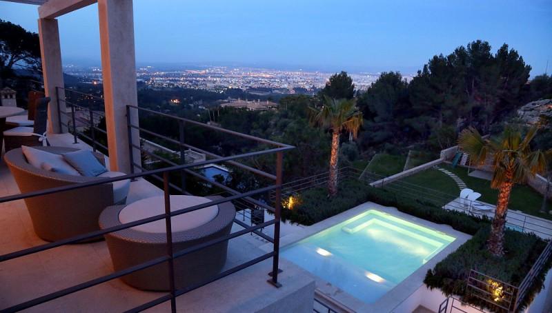 Moderne Villa in Son Vida mit Panoramablick