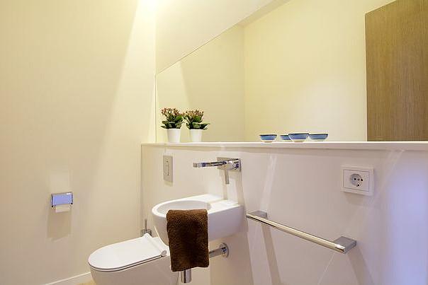 Elegante Meerblick Wohnung in San Agustin / Palma - Designerbad