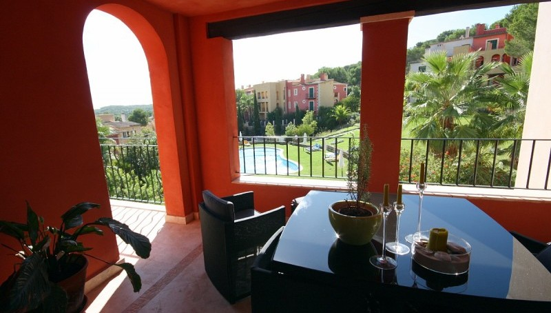 Mediterrane Ferien-Apartments in Santa Ponsa