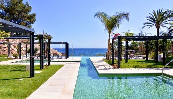 Elegante Meerblick Wohnung in San Agustin / Palma