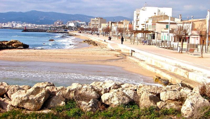 Hochwertige Meerblickwohnung in Portixol - El Molinar