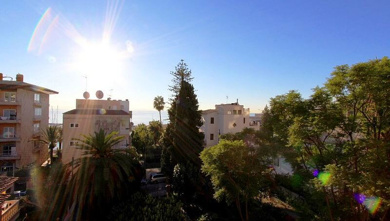 Sonnige Wohnung mit Panoramaausblick in Palma/Sant Agustin