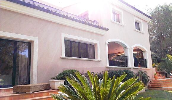 Traumhaft schöne Familienvilla in Cala Vinyes zur Langzeitmiete