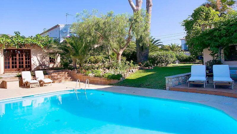 Wunderschönes und modern eingerichtetes Mallorca Chalet für die Wintermonate in San Agusti zur Miete