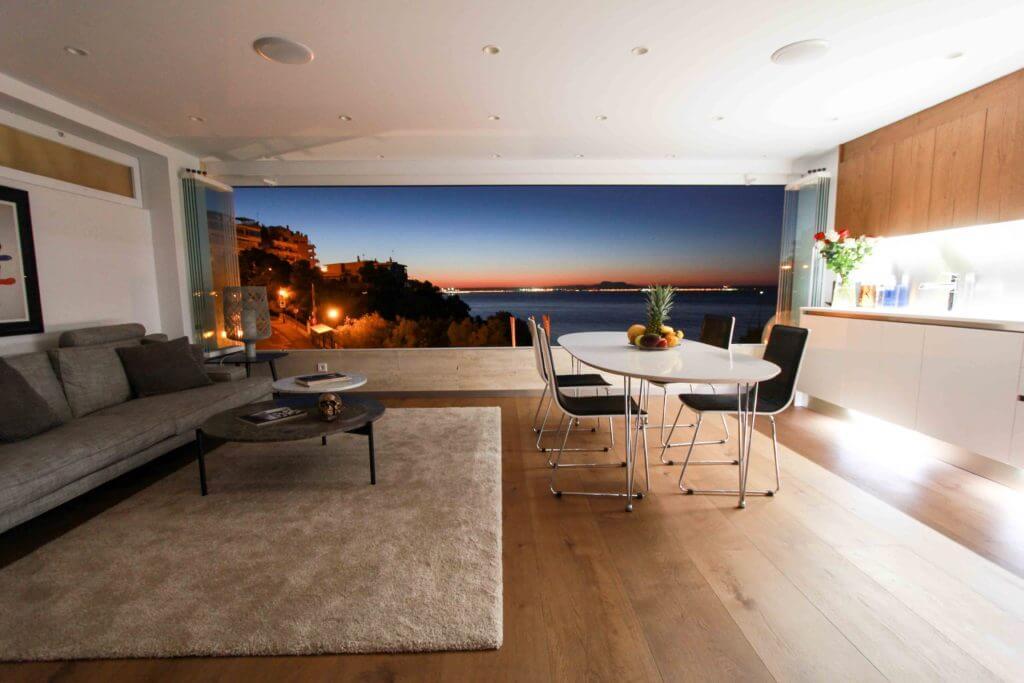 eines der sch nsten und modernsten meerblick lofts auf mallorca. Black Bedroom Furniture Sets. Home Design Ideas