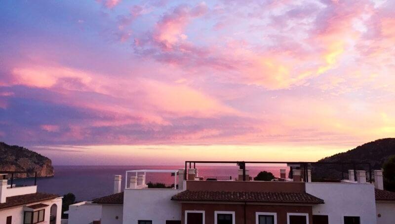 Neuwertiges Reihenhaus mit Meerblick in Camp de Mar