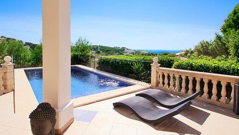 Traumhaft schöne Luxusvilla in Costa de la Calma-Badezimmer