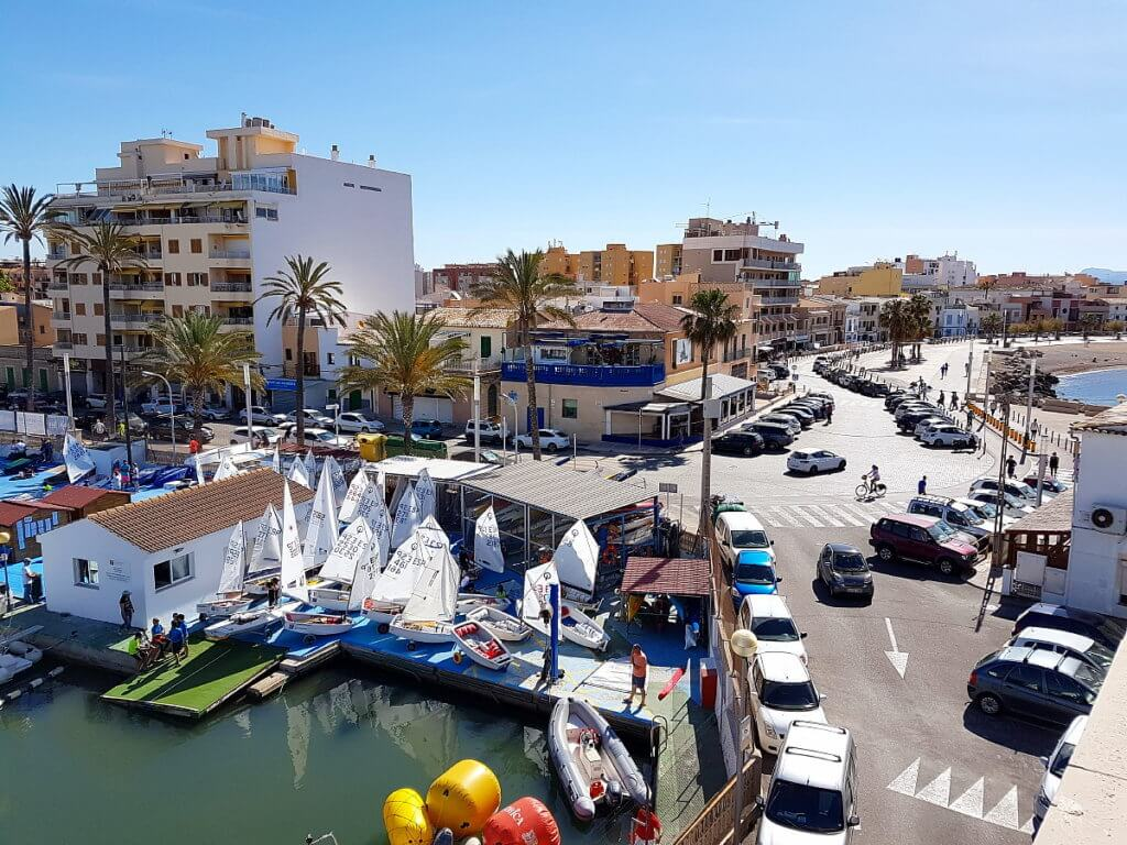 Ansicht auf Palma-Portixol