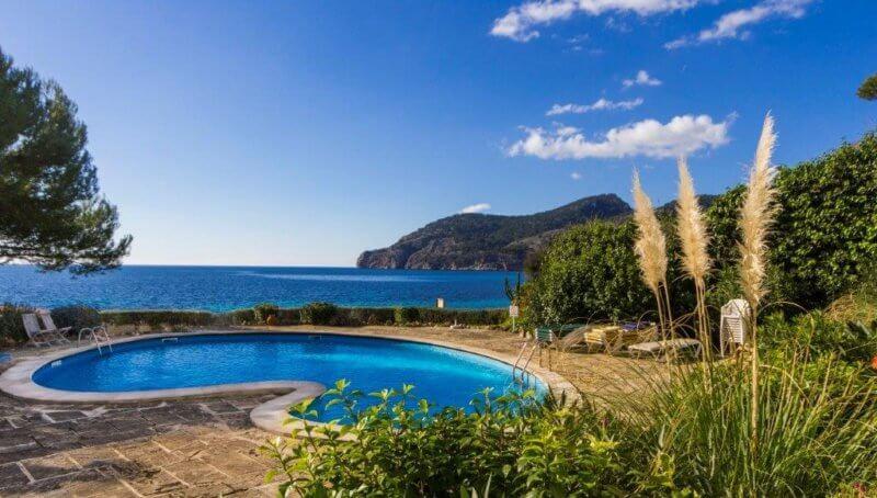 Sehr gepflegtes Meerblick-Apartment in Camp de Mar zur Langzeitmiete
